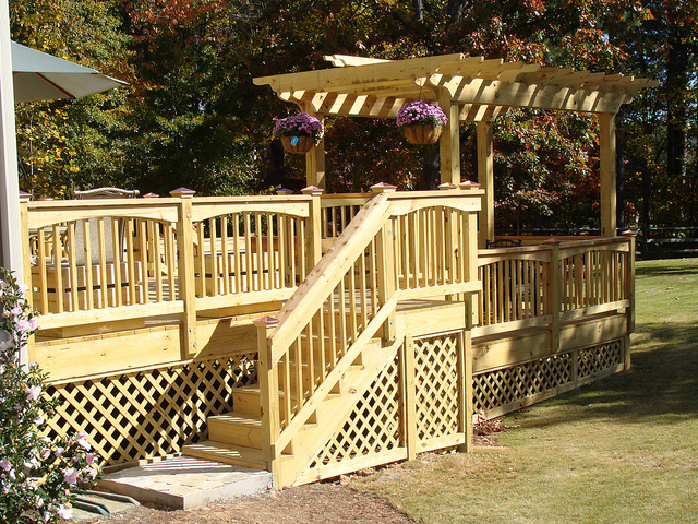 Gazebo with sides